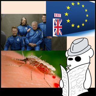 Brexit, malaria e capitano Kirk