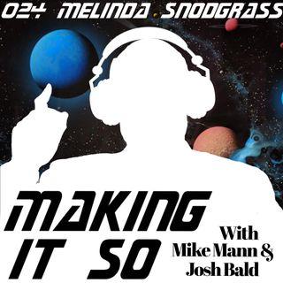 E024 - Melinda Snodgrass Prognosticates on Picard and Meditates on Maddox