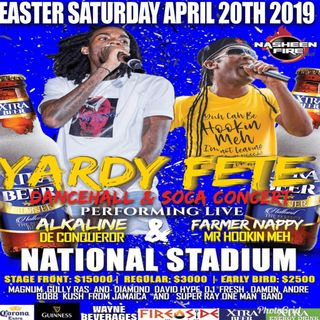 BOBBY KUSH - YARDY FETE PROMOTIONAL KUSHTAPE - APRIL 20 2019