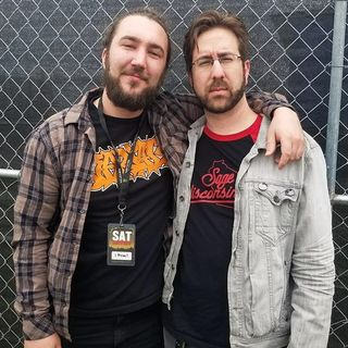 Rockcast at Northern Invasion - Eric Vanlerberghe from I Prevail