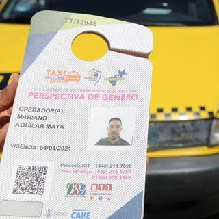 Taxi seguro para mujeres en Querétaro