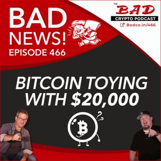 Bitcoin Toying with $20,000 - Bad News For Dec 3rd
