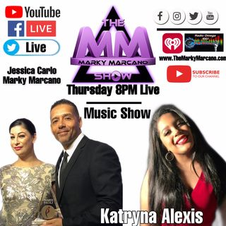 KATRYNA ALEXIS ON INTERVIEW AT THEMARKYMARCANOSHOW  Powered by TheMMStudios
