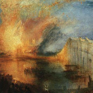 L' incendio del Parlamento Turner