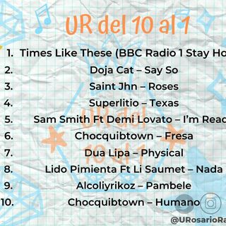 Chocquibtown, Superlitio y Foo Fighters la rompen en el conteo #URDel10Al1