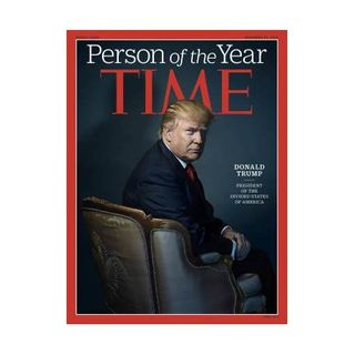 Time Person of  the Year DJ Trump