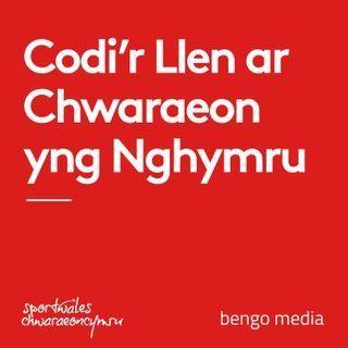 Codi'r Llen ar Chwaraeon yng Nghymru