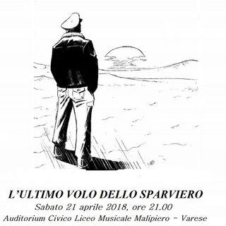 La Voce dello Sparviero nella puntata del 17 aprile: l'attore Luca Maciacchini