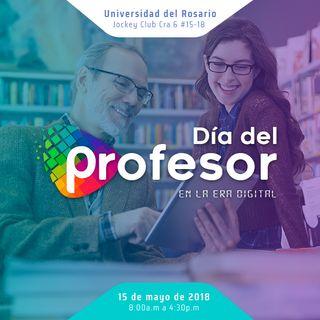 Universidad del Rosario celebra el día del profesor