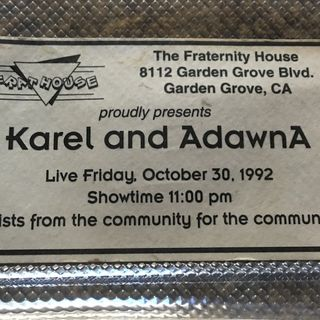 Karel Fri Oct 30 The Day it all Started! Bonus Tracks!