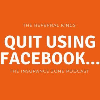 Quit using Facebook...