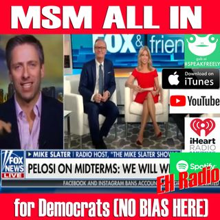 Morning moment  MSM ALL IN for Democrats Nov 1 2018