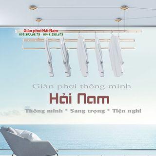 Giàn phơi thông minh Hải Nam