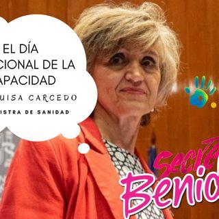 DÍA INTERNACIONAL DE LA DISCAPACIDAD (A MARIA LUISA CARCEDO, MINISTRA SANIDAD) + SKA-P ESPAÑA VA BIEN