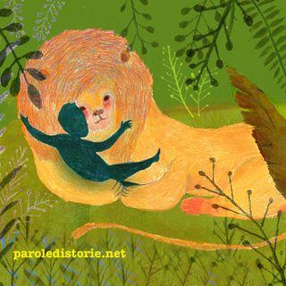 Il leone e il bambino abbandonato. Una favola dall'Africa