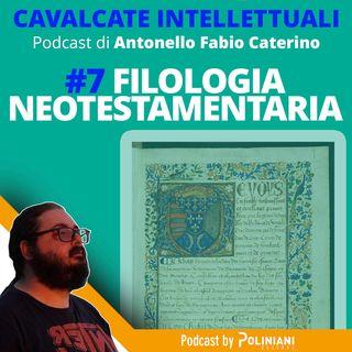 Filologia neotestamentaria
