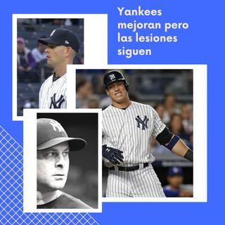 Yankees mejoran y las lesiones siguen