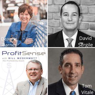 ProfitSense with Bill McDermott, Episode 12: Deanne Barnes, Evans Tool & Die; David Sergile, STONE Resource Group; and Tom Vitale, Northwest