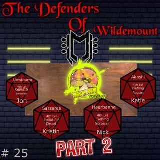 Episode 25: The Defenders of Wildemount, Pt 2