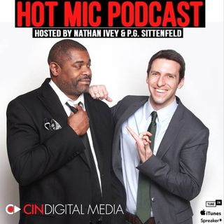 Ep 14  | Shot Spotter, March Madness | Hot Mic Podcast | CinDigital Media