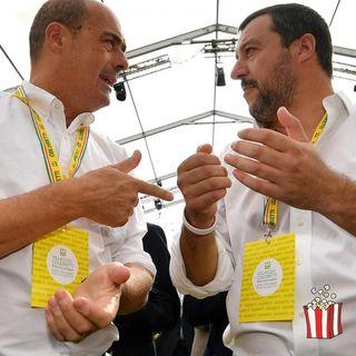 Scontro tra Salvini e Zingaretti