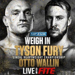 Tyson Fury vs Otto Wallin Alternative Commentary