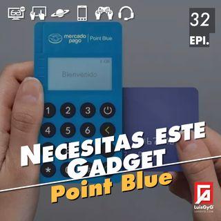 Necesitas este gadget: Point Blue de MercadoPago.