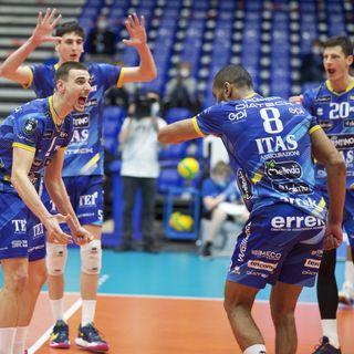 Lisinac, Michieletto e Lorenzetti dopo il 3-1 su Karlovarsko in Germania