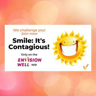 E001 Smile It's Contagious Spread Some Sunshine Challenge