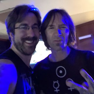 Rockcast at Aftershock 2018 - Shannon Larkin of Godsmack