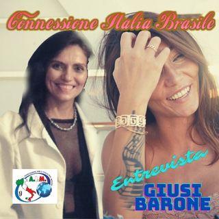 Podcast Conexão Italia Brasil Entrevista GIUSI BARONE