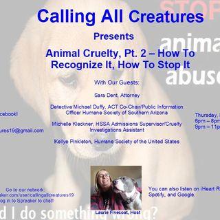 Animal Cruelty Pt. 2