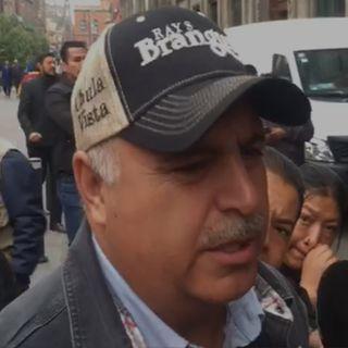 Adrián LeBarón tranquilo tras reunirse con AMLO