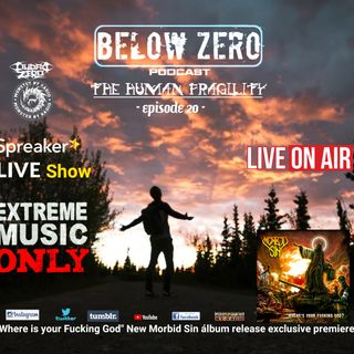 BELOW ZERO - THE HUMAN FRAGILITY
