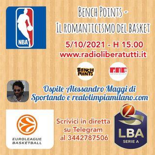 Bench Points - P37 - Pallacanestro all'italiana e Nba in sala d'attesa