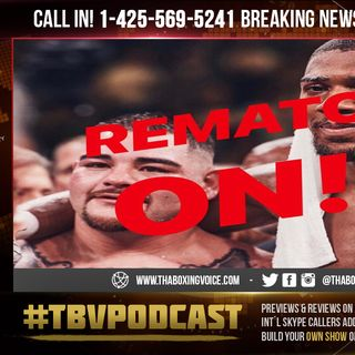 "☎️Anthony Joshua ""Exercises Rematch Clause,""😱Andy Ruiz Says I Call Shots Now🤯"
