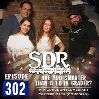 Kim Congdon & Chrissie Mayr (Comedians) - Are You Smarter Than A Fifth Grader?