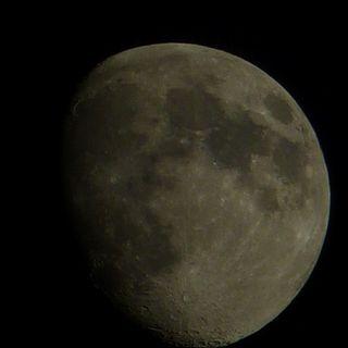 Infine la luna...