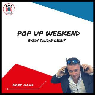 La nostra Domenica è  Pop Up Week End con Erny Gandini
