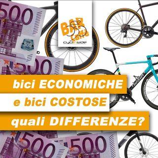 Bici da corsa ECONOMICHE e COSTOSE: quali DIFFERENZE?