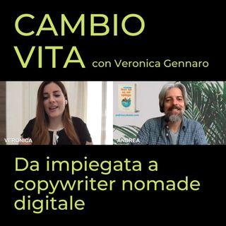Veronica, da impiegata a copywriter nomade digitale