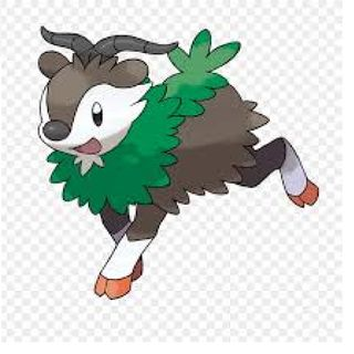 Grass pokemon 12