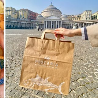 Pescaria arriva a Napoli, con tantissime proposte gustose