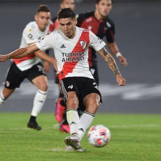 Gol de River: Gonzalo Montiel 3-1