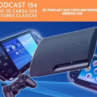 Podcast 154 - Sony cierra sus stores clásicas
