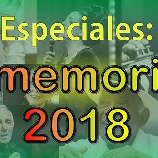 Especial - In Memorian 2018