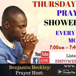 Thursday Morning Prayer Showers - Thursday 23rd April
