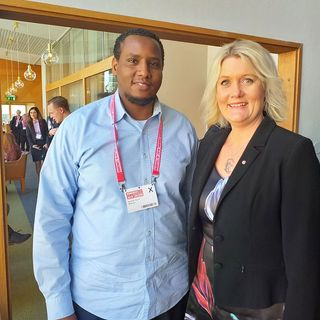 Lena Baastad är partisekreterare i socialdemokraterna