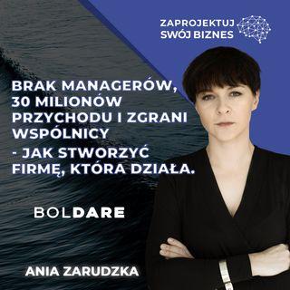 Zawsze warto próbować-Anna Zarudzka w Zaprojektuj Swój Biznes