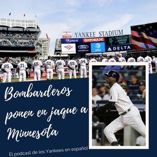 Yankees tienen a los Mellizos contra las cuerdas